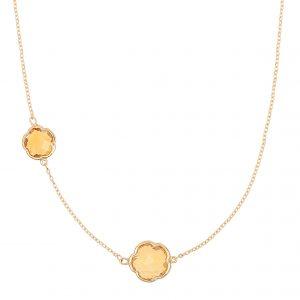 7-322 di poppea citrine necklace