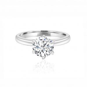 Solitaire Diamond Rings