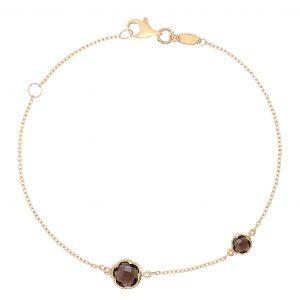 Coloured Gemstone Bracelets