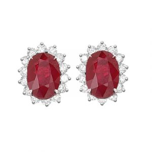 Gemstone Set Earrings