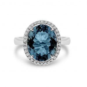 Coloured Gemstones Rings