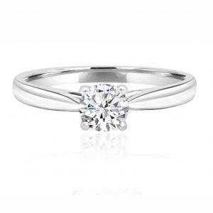 Round Brilliant Cut Diamond Rings